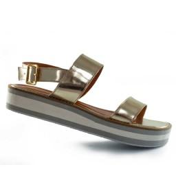 Sandália Flatform Numeração Especial Sapato Show 8003