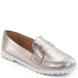 Mocassim Metalizado e Envernizado Sapato Show 11183