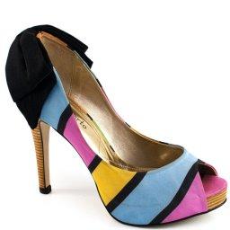 Peep Toe Colorido Laura Porto Me894