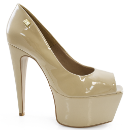 Peep Toe Meia Pata Número Grande Sapato Show 1050116