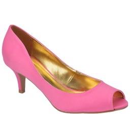 Peep Toe Pink de Festa Numeração Especial Belmon - 23016