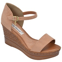 Anabela Suede Antique Via Brasil - 2123