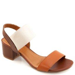 Sandalia Elástico Numeração Especial Sapato Show 886e