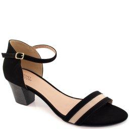 Sandalia Nobuck Numeração Especial Sapato Show 11313e