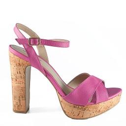 Sandália Salto Grosso Numeração Especial Sapato Show - 943116e