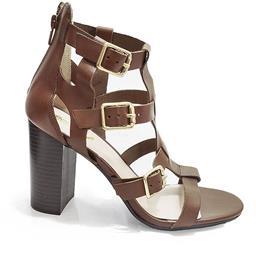 Sandália Salto Grosso Sapato Show - 60609