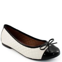 Sapatilha Cap Toe em Verniz Sapato Show 10230