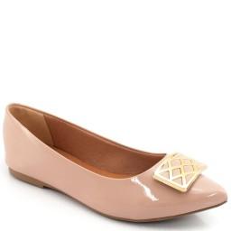 Sapatilha Fivela Metalizada Sapato Show 11123
