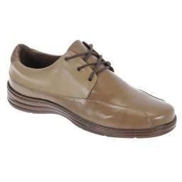 Sapato Masculino com Cadarço Italeoni - 812 Camel