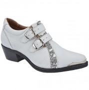 Sapato Social com Fivelas MTrez - 9052