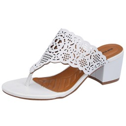 Tamanco Branco Sapato Show - 1850