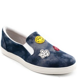 Tênis Slip On Patches Sapato Show 0071