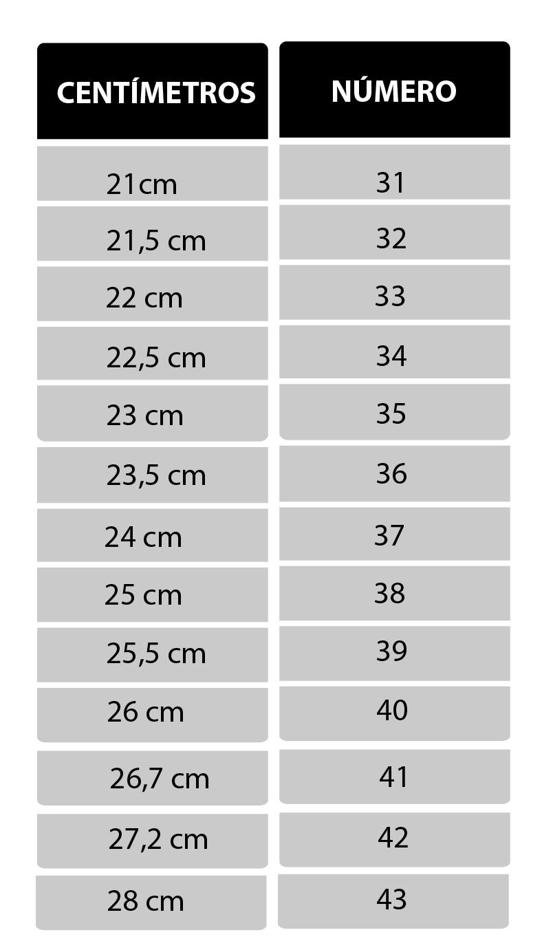 2a8a62f9f4 O tamanho ideal para seus pés!