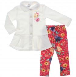 Agasalho Alakazoo Infantil Menina Legging Floral 29845