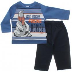 Agasalho Alakazoo Infantil Menino Blus�o Urso Polar 29806