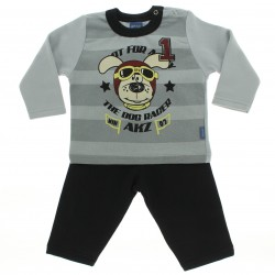 Agasalho Alakazoo Infantil Menino Dog Racer Listrado 28291