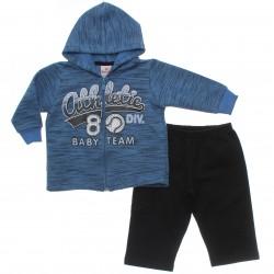 Agasalho Brandili Bebê Capuz Estampa Athletic Baby 31062