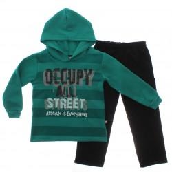 Agasalho Brandili Infantil Menino Capuz Occupy Streets 29345