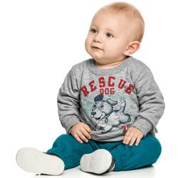 Agasalho Elian Bebê Infantil Elian Menino Rescue Dog 30978