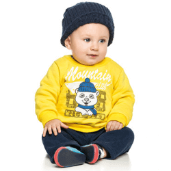 Agasalho Elian Bebê Infantil Elian Menino Urso Montain 30885