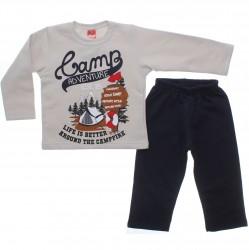 Agasalho Elian Infantil Elian Menino Estampa Camp Adventure 31100