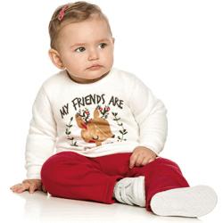 Agasalho Elian Infantil Menina Moletom Fechado My Friends 30880