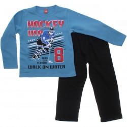 Agasalho Elian Infantil Menino Moletom Fechado Hockey 30890