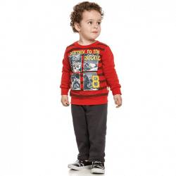 Agasalho Elian Infantil Menino Moletom Fechado Journey 30875