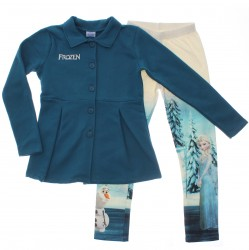 Agasalho Frozen Infantil Menina Legging Estampada 29737