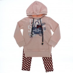 Agasalho Have Fun Infantil Menina Legging Poa Blus�o 28449