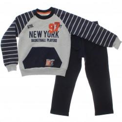 Agasalho Have Fun Infantil Menino Moletom New York 29729