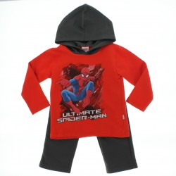 Agasalho Homem Aranha Infantil Menino Capuz Ultimate 28172