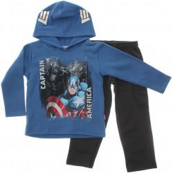 Agasalho Marvel Infantil Her�is Capuz Capit�o America 29736