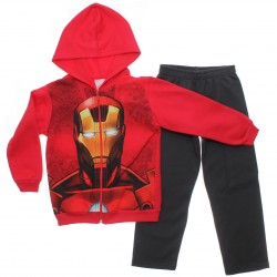 Agasalho Marvel Infantil Heróis Capuz Sortido 31095