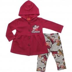 Agasalho Turma da Mônica Infantil Menina Legging Smac 30924