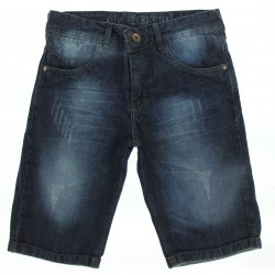 Bermuda Jeans Akiyoshi Juvenil Menino Tacha Bolso 29070