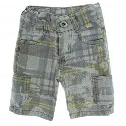 Bermuda Jeans Arti Colare Menino Infantil Bolso Lateral Xdrz