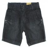 Bermuda Jeans Pull-ga Infanitl Juvenil Menino Bolso Relevo -
