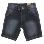 Bermuda Jeans Pull-ga Infantil Juvenil Menino Cos Presponto