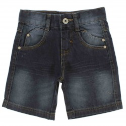 Bermuda Jeans Tandy Bee Infantil Menino Bolsos - 25579