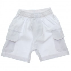 Bermuda Vrasalon Infantil Menino Sarja Bolsos Lisa 1-3 30622