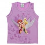 Blusa Disney Estampa Glitter Sininho - 21855
