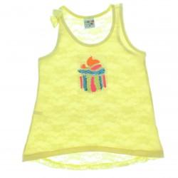 Blusa Have Fun Infantil Menina Cupcake Tule Costas - 25614