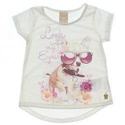Blusa Infantil Colorittá Cachorro Óculos 31612