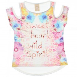 Blusa Infantil Colorittá Menina Sweet Heart Sublimado 30102