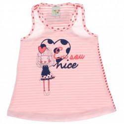 Blusa Infantil Have Fun Regata Eu sou Nice 30207