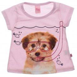 Blusa Infantil Menina Livy Cachorro Mergulho 31799