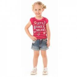 Blusa Infantil Menina Livy Lets Take a Selfie 31800