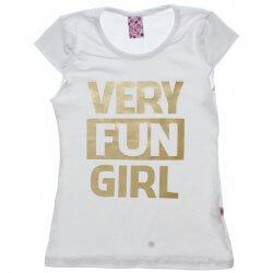 Blusa Juvenil Menina Livy Very Fun Girl 31788