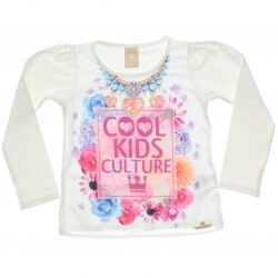 Blusa Manga Longa Colorittá Cool Kids Culture 30863